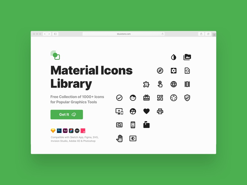Material Icons Library (Freebie) android material google materialicons icons svg sketch app adobexd photoshop invision figma freebie sketch