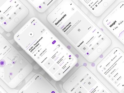 Fragments iOS Wireframe Kit