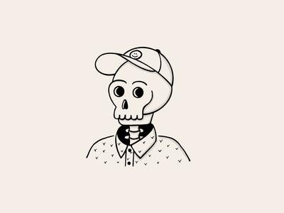 Skull Selfie