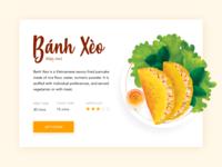 Vietnamese Pancake - Banh Xeo