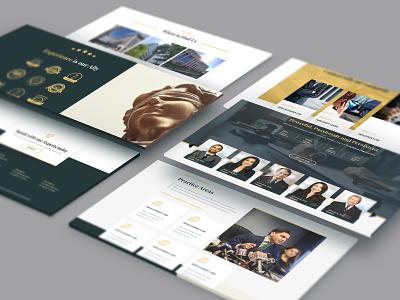 Web Design for a Law Firm photoshop web ui  ux ui adobe xd web desgin