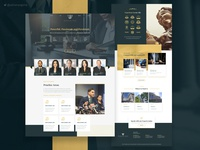 Website Prototype for a Law Firm
