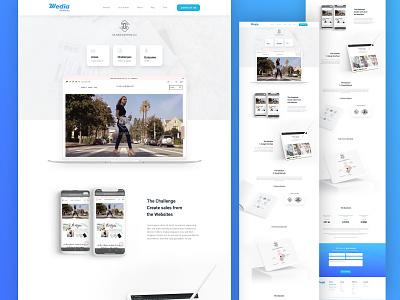 711 Media   Case studies page typography marketing abstract designer graphic design design adobe xd web ui  ux web desgin ui