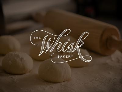 Whisk Bakery logo handlettering lettering whisk bakery
