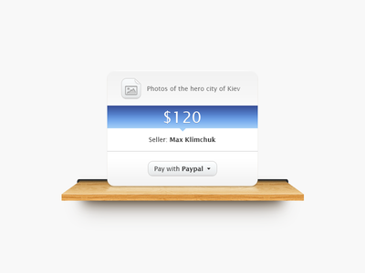 Shelf with file file paypal clean simple ui pay wood shelf texture