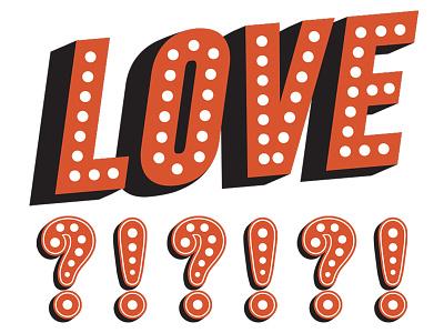 LOVE love design identity texmex typography type branding