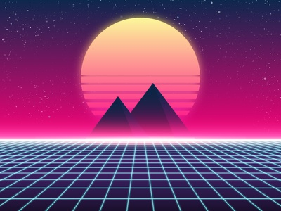 Synthwave pyramids vector disco synthwave synth triangle pyramid retro 80