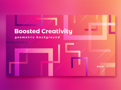 Abstract vivid gradient background
