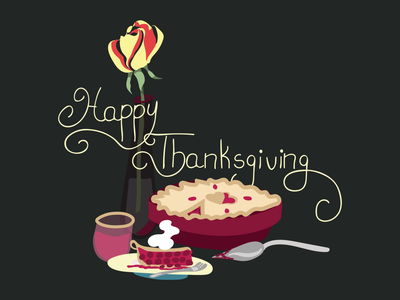 Happy Thanksgiving 2020 typography art vector illustration