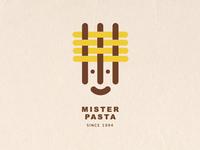 Logo concept for an Italian food restaurant