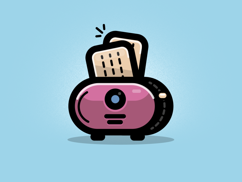 Toaster electric device toaster