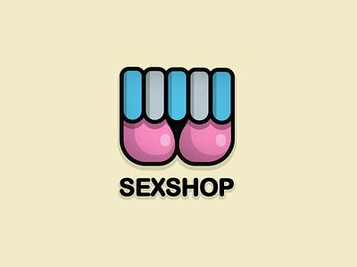 Sex shop logo - concept logo sexy shop sex