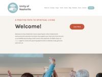 Website Design | Unity of Nashville