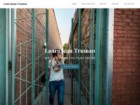 Site Redesign | Laura Jean Truman