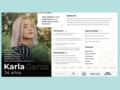 User Persona adobe xd ux design research cards personas user personas ux user persona