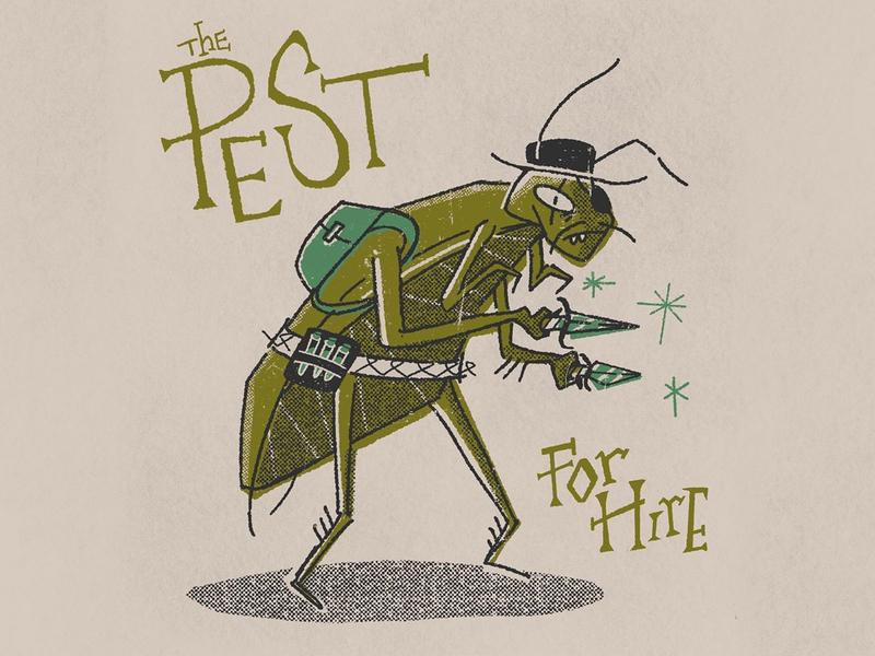 DAY 05 - Pest (NPC) [INKTOBER 2019]⠀