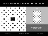 100% Editable Branding Pattern