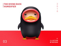 The Diving Duck  Humidifier