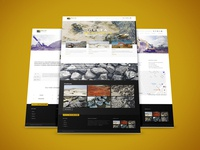 Website Design for Delta Minerals (Design and Code)