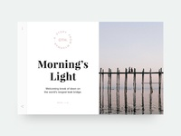 Article card — Morning Light