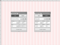 Grid&Guides. Adobe Photoshop Extension