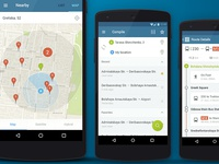 Public Transport Routes. Android app.