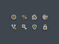 Temporary Icons mobility endpoint product tls protect security keys ssh outage devops codesigning platform icon ui