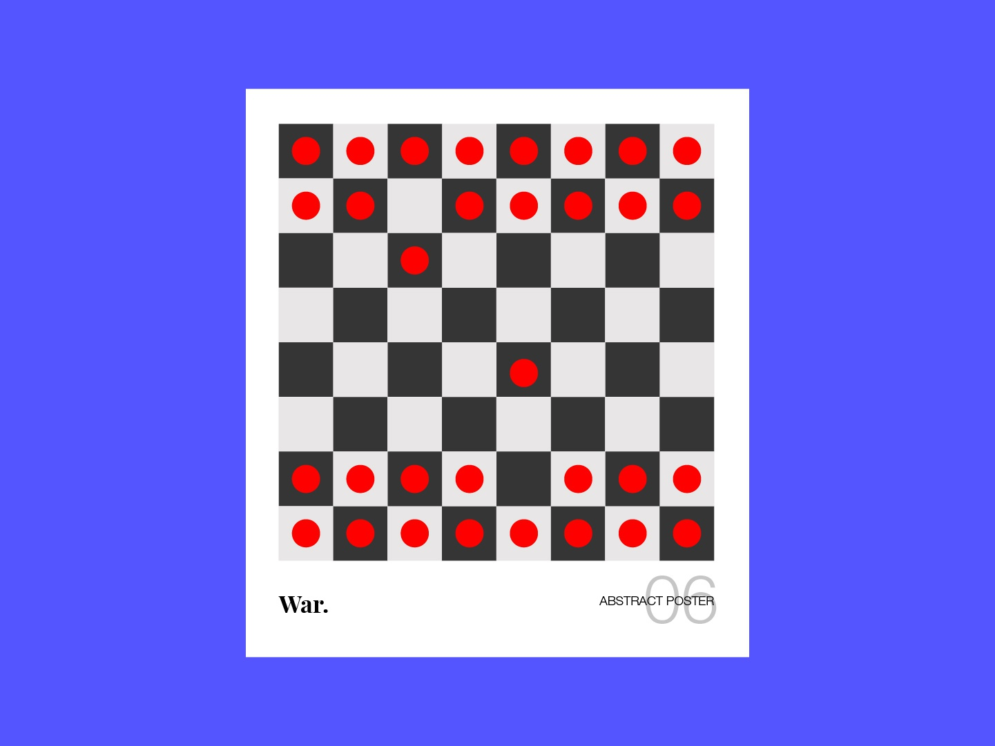 Abstract. Abstract Poster Series 06 design illustration art bangalore abstract poster series blood dot red ui poster abstract poster design black and white abstract design abstract poster abstract chess war