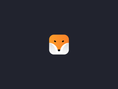 FOX Icon for Dribbble Weekly Warm-Up