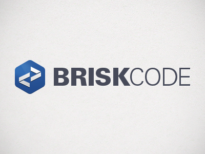 BRISK CODE Logo