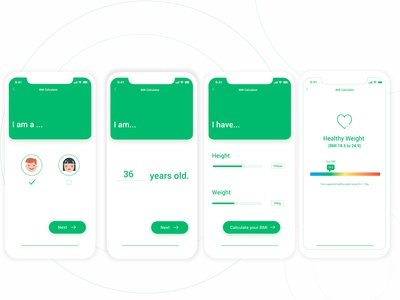 Daily UI 004- BMI Calculator