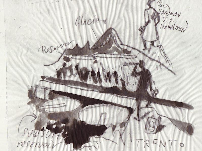 Trento rough illustration sketch