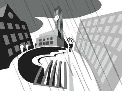Finished illustration for Outsmart poster