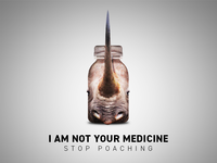 Anti-Poaching Campaign Poster