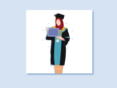 Graduation vector illustration design
