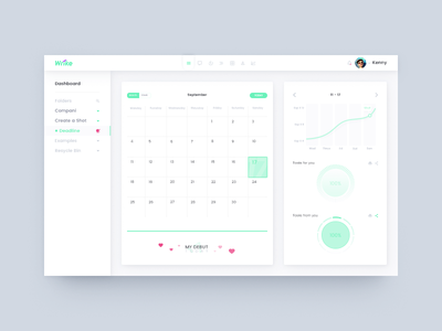 Wrike senks happy web ui design deshboard wrike debut
