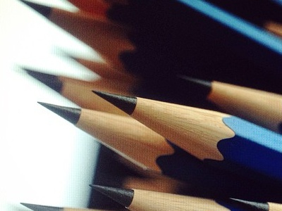 Pencil Shading/Lighting Test 3d octane otoy render lighting shading pencil closeup
