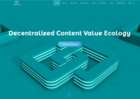 ContentChain home page