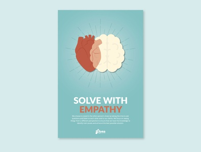 Values Poster - Solve with Empathy