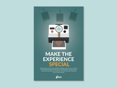 Values Poster - Make the Experience Special