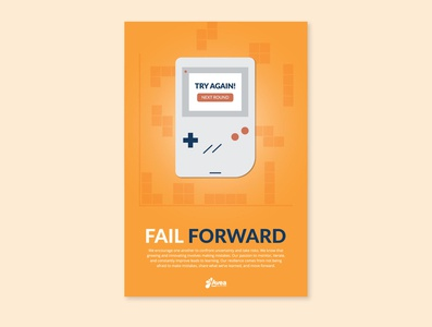 Values Poster - Fail Forward