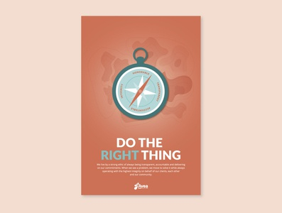 Values Poster - Do the Right Thing
