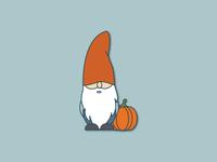 Gnorman the Gnome Illustration