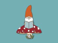 Grampy the Gnome Illustration