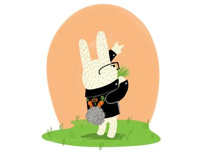Rock on, Rabbit