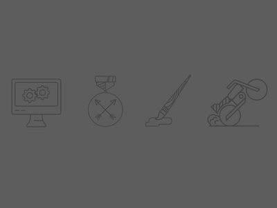 New Houndstooth Service Icons