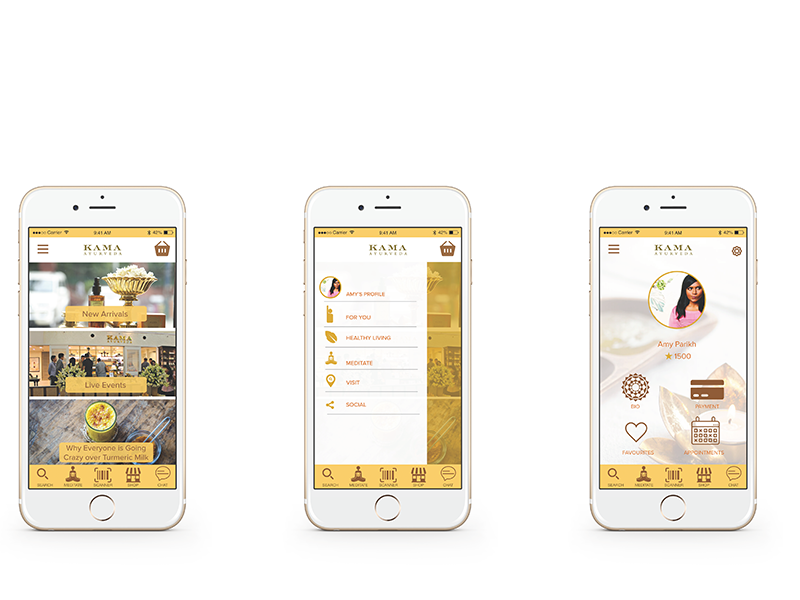Mobile App Design: Wellness Lifestyle Consultant