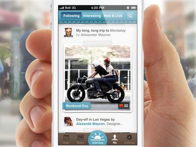 Design for journal app