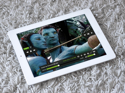 Oplayer app ios design ui iphone ipad video music player play oplayer