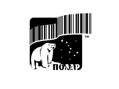 Logo for Polar polar visual identity brandbook brand style guide branding logo